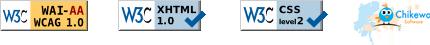 WAI-AA XHTML CSS Chikewa Software